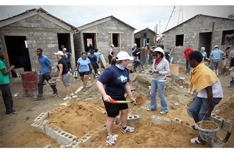gallery westjet employees build homes in the