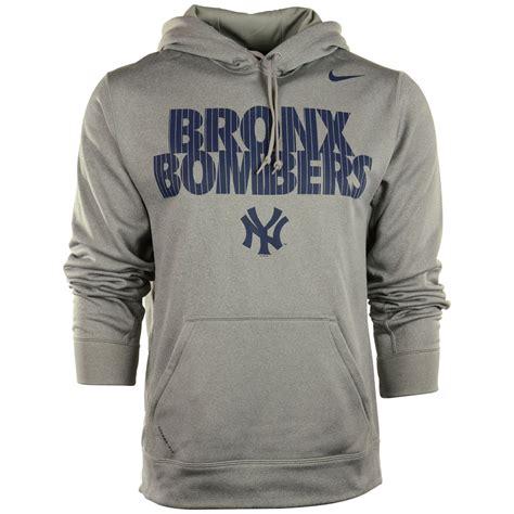 Hoodie Yankees Grey 1 nike s new york yankees bronx bombers hoodie in blue for gray lyst