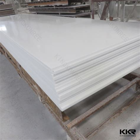 Solid Surface Countertop Sheets Customized Countertop Polystone Acrylic Solid Surface
