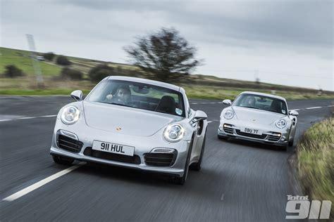 Porsche V porsche 991 v porsche 997 turbo s duel in issue 123