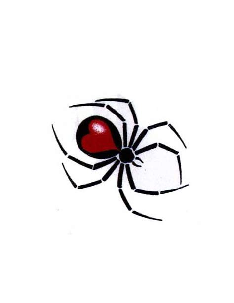 red back spider tattoo designs black widow spider designs pictures to pin on