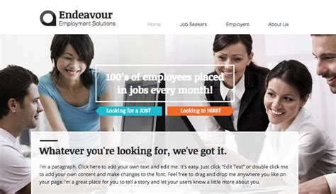 free templates for recruitment website consulting coaching website templates business wix
