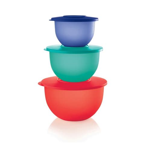 Tupperware Clip On Bowl tupperware 174 impressions classic bowl set