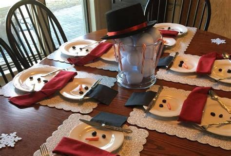 decorazioni natalizie tavola fai da te 20 decorazioni fai da te per la tavola di natale
