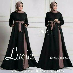 Lucia Dress By Shofiya by Jual Gamis Lucia Dress Ori Shofiya Longdress Maxi