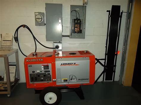kubota gl 11000 usa portable diesel generator set ebay