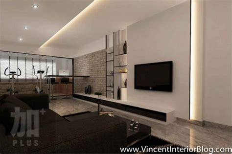 Modern Feature Wall Ideas by Singapore Interior Design Ideas Beautiful Living Rooms