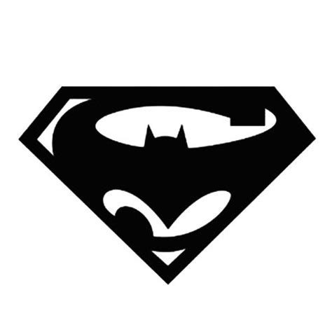 superman logo silhouette clipart best