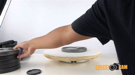 rotating table for product photography tip rotating products with motorized lazy susan turn