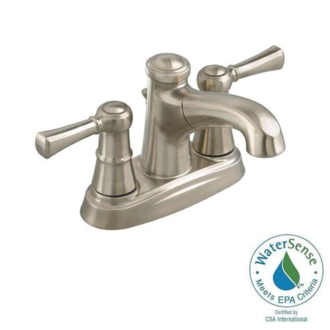 pull out bathtub faucet american standard outreach 4 in centerset 2 handle low