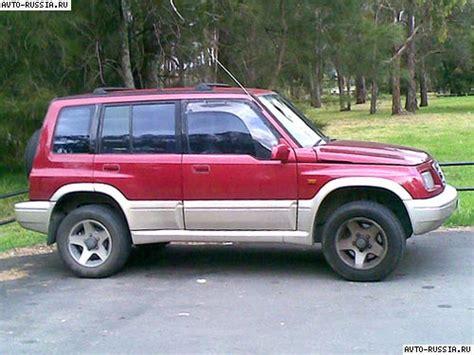 Suzuki Russia Suzuki Vitara I цена технические характеристики фото