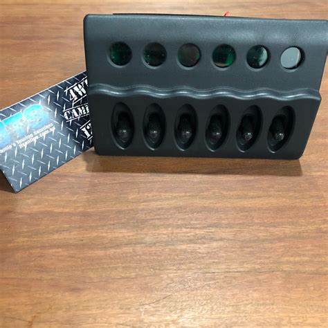combination  gang switch fuse block  distribution panel jamies touring solutions