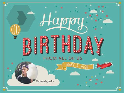 birthday card email templates free 65 sle cards free sle exle forma free