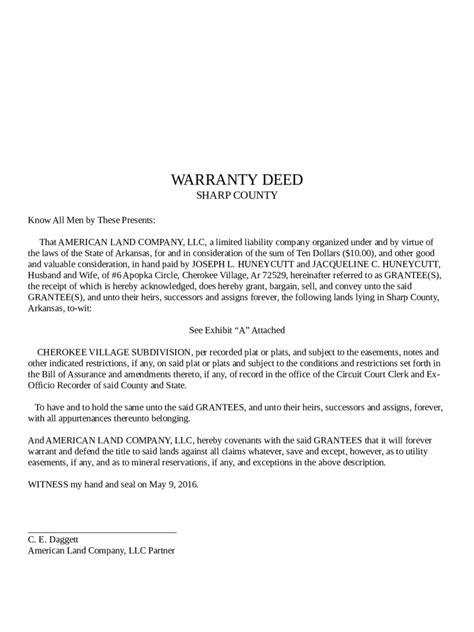 warranty deed form warranty deed form 56 free templates in pdf word excel