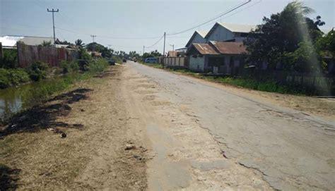 sejumlah jalan rusak parah dprd panggil kadis pu merauke berita papua