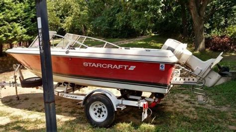 starcraft pleasure boats 1987 starcraft pleasure boat 16 ft with ez loader trailer