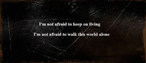 Hoodie Walker 1 Im Not Alone i m not afraid to walk this world alone