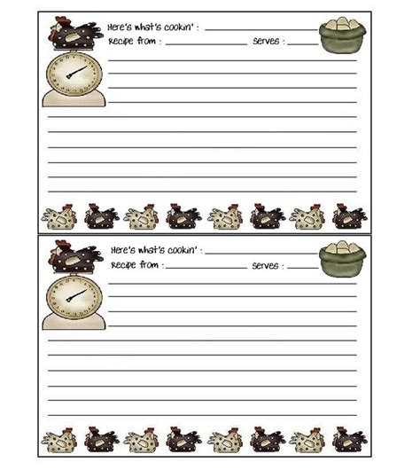 free printable recipe card borders 129 best images about borders recipe cards on pinterest