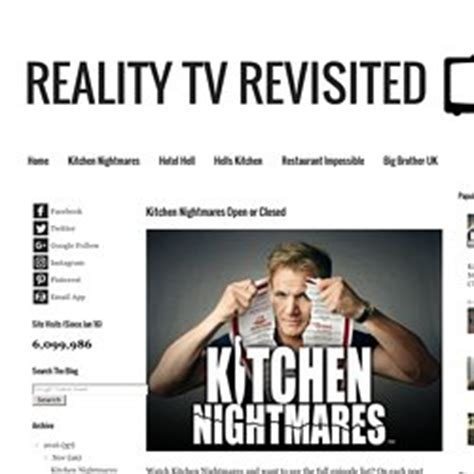 Kitchen Nightmares Revisited by Shows Pearltrees
