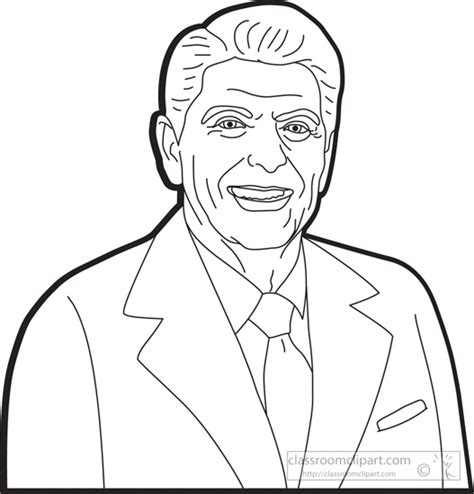 richard nixon free coloring pages