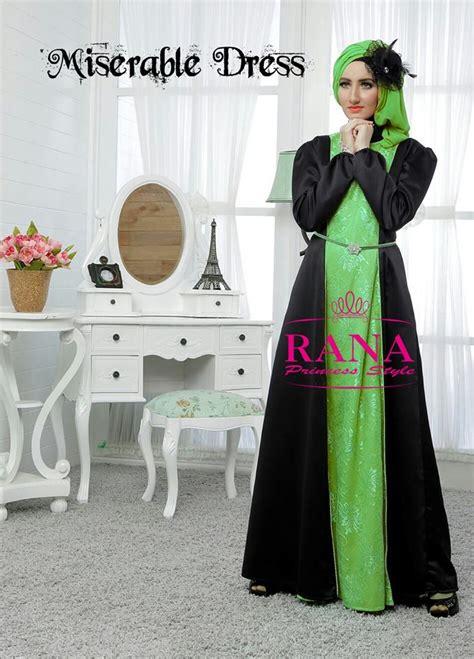 Gamis Rana Rana Princess Style Pusat Busana Gaun Pesta Muslim Modern