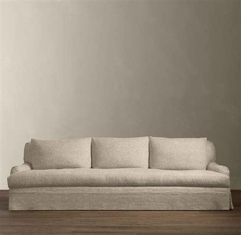 restoration hardware slipcovered sofa 9 belgian roll arm slipcovered sofa sofas