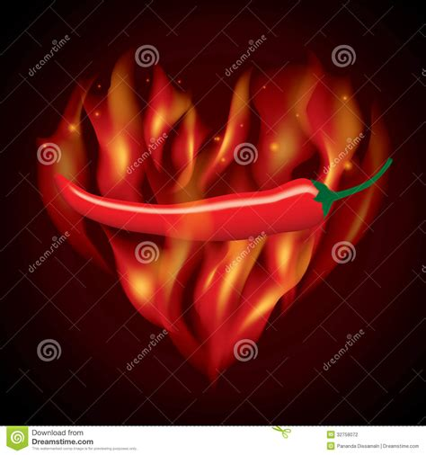 red hot fire red chilli fire stock photo image of taste burning