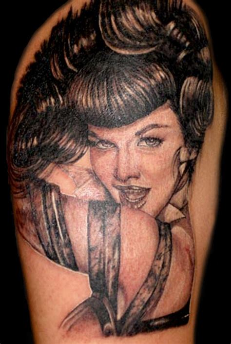 betty page tattoo large image leave comment
