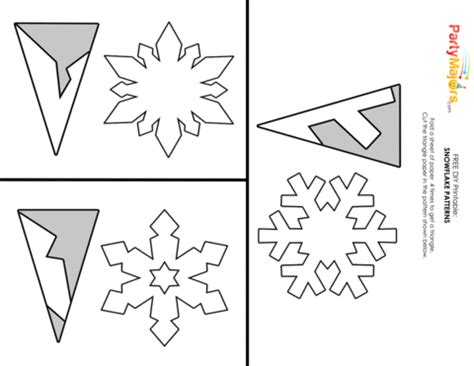 How To Make Origami Snowflakes Easy - diy make easy pretty paper snowflakes paper