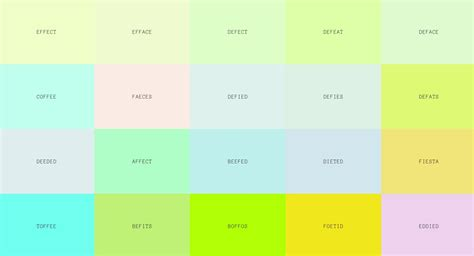 color css real words that work as css colors for your website