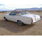Buy Used 1970 LINCOLN CONTINENTAL MK III In Golden Valley