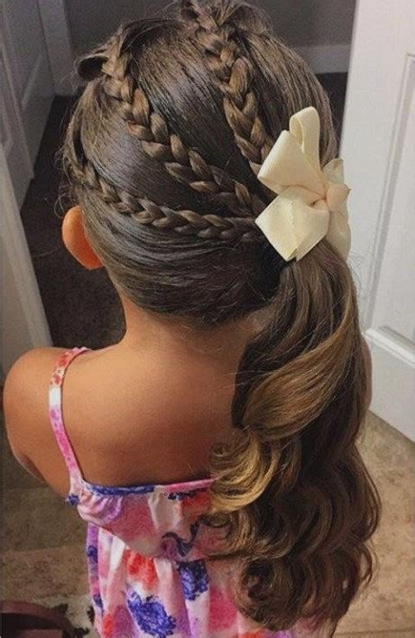 girl hairstyles that are easy cute and easy hairstyles for little girls