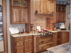 Showplace Kitchen Cabinets by Rustic Hickory Showroom