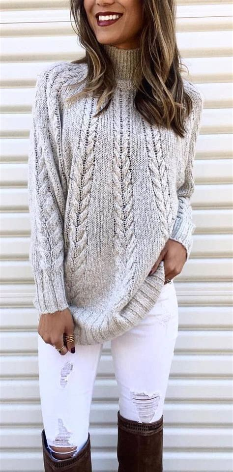 knit outfit best 25 knit sweaters ideas on cozy sweaters