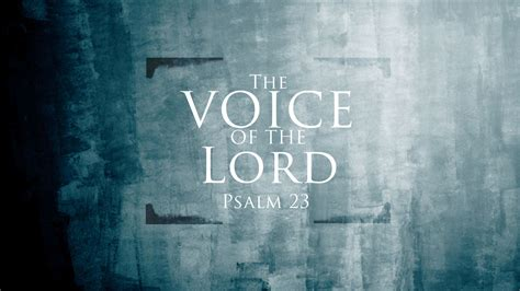 The Voice Of The the voice of the lord alabaster