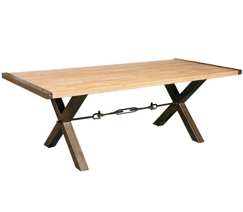 Dining Tables With Metal Legs Benchwright Reclaimed Wood Iron Legs Dining Table 87