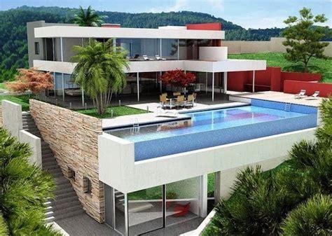 21 gambar rumah mewah 2 lantai terbaik 2017 2018 desain rumah minimalis 2018