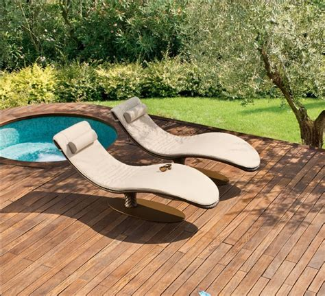 pool recliners ultra modern pool lounge chairs to turn your backyard into