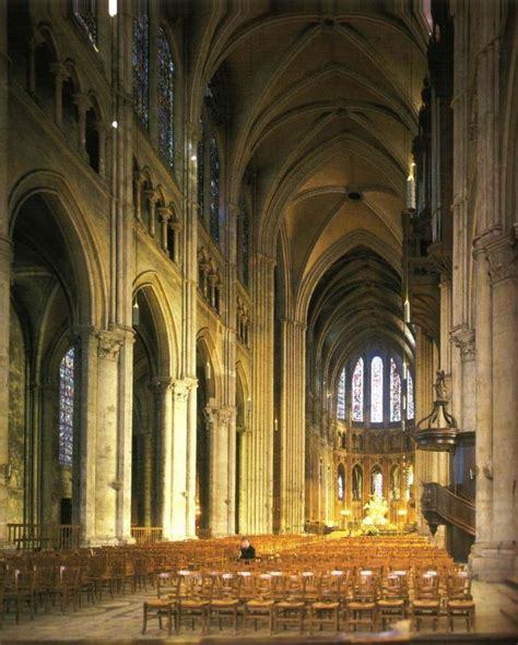 Chartres Cathedral Interior by History 103 Gt Park Gt Flashcards Gt Studyblue