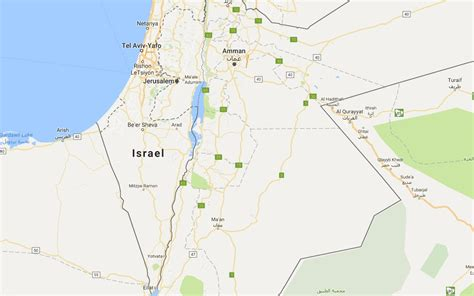 israel google google says palestine was never on google maps after