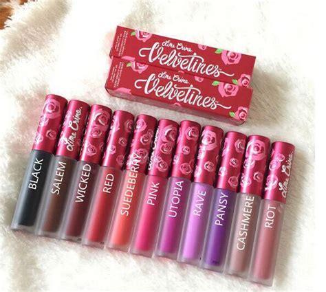 Lipgloss Wardah Terbaru new makeup lime velvetines matte lip gloss the original