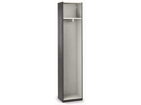 armoire 50 cm largeur caisse 1 porte largeur 50 cm no limit coloris fr 234 ne