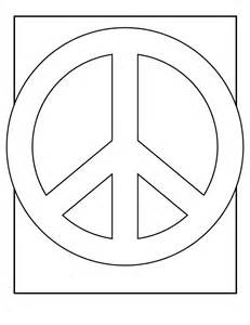 peace sign coloring pages peace sign coloring pages