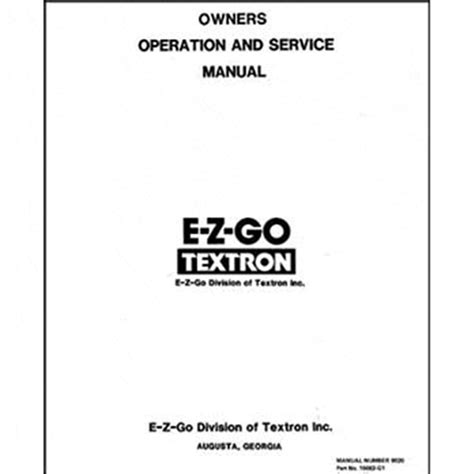marathon service manual fits
