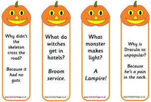 jack lantern bookmarks jokes