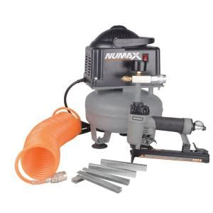 Upholstery Staple Gun Rental by Numax 1 5 Gal Free Compressor And Upholstery Stapler