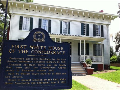 first white house first white house of the confederacy images