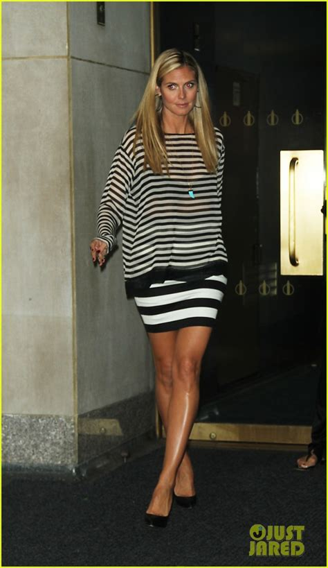 Heidi Klum On The Blvd Today by Sized Photo Of Heidi Klum Visits The Today Show 29