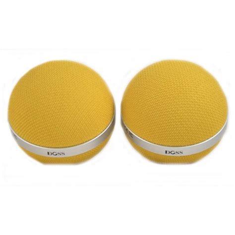 jual doss ds 3d stereo bluetooth speaker yellow best memory