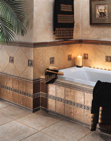 idea bathroom floor wall tiles  choose the patterns of your tiles and it will ideally suit your style